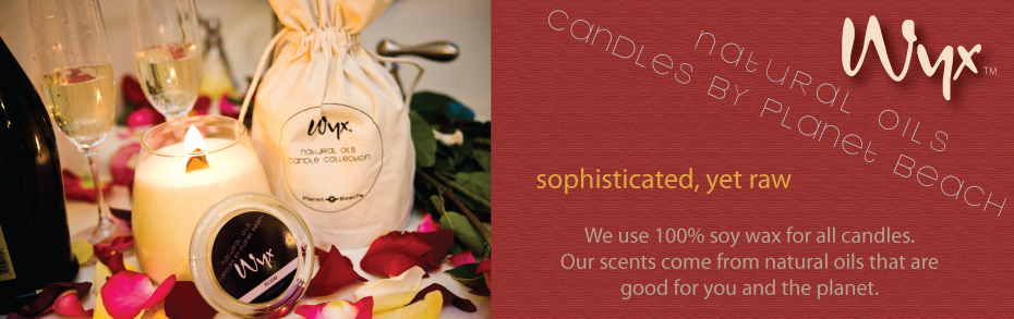 Natural Oil Candle Collection