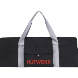 HOTWORX MAT & TOWEL LARGE TOTE - BLACK
