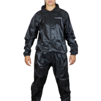 BLACK SAUNA SUIT SM/MED